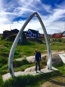 Greenland - see how big is the whale mouth
