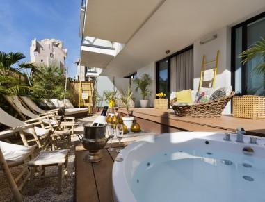 Brown Beach Hotel Jacuzzi Spa Terrace