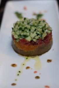Dish at Adom Restaurant