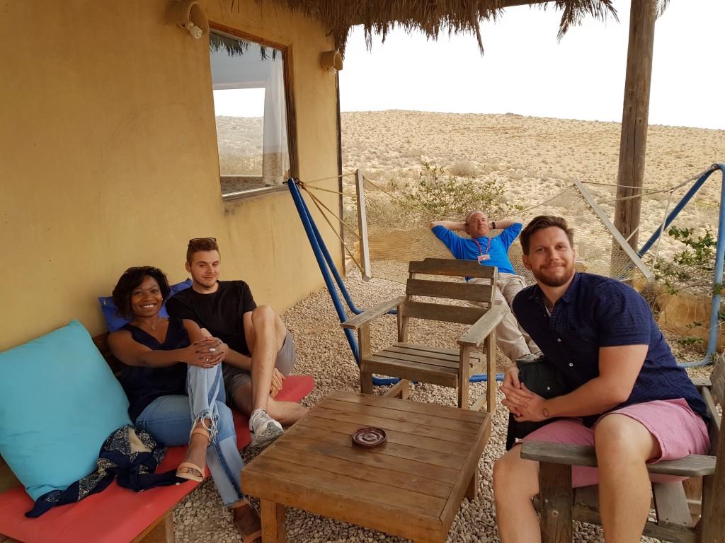 Winery in the Negev Desert